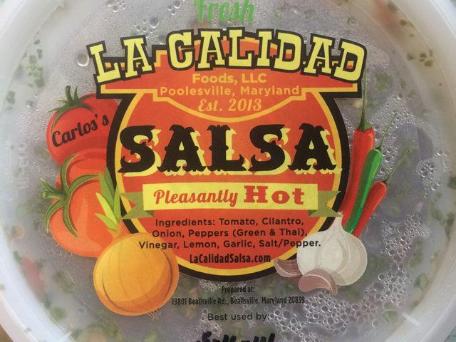 La-Calidad-Label-on-Package